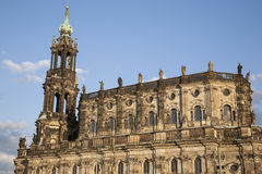 Cathedral in Dresden Stock Images