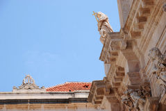 Cathedral in Dubrovnik Royalty Free Stock Photo