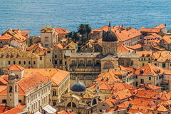 Cathedral in Dubrovnik Stock Photography