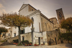 Cathedral Duomo church of Ravello ,Amalfi coast mediterranean se Royalty Free Stock Image