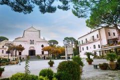 Cathedral Duomo church of Ravello ,Amalfi coast mediterranean se Stock Photo