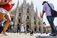 Cathedral - Duomo di Milan Royalty Free Stock Photography