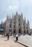 Cathedral - Duomo di Milan Stock Images