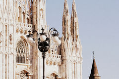 Cathedral Duomo di Milano in Milan, Italy Stock Photography