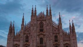 Cathedral Duomo di Milano stock footage