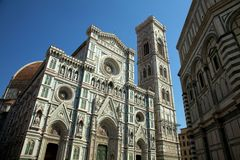 Cathedral and Duomo Florence Royalty Free Stock Photos