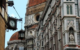 Cathedral The Duomo on Florence, Italy Royalty Free Stock Images