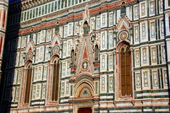 Cathedral The Duomo on Florence, Italy Royalty Free Stock Photo