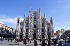 Cathedral Duomo in Milan, Italy Royalty Free Stock Photos