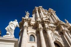 The Cathedral (Duomo) of Ortigia Royalty Free Stock Image