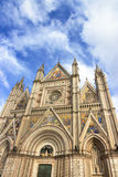 The Cathedral Duomo of Orvieto. Umbria, Italy Stock Photography