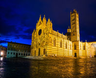 Cathedral Duomo in Siena, Italy Royalty Free Stock Photo