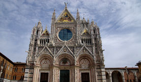 Cathedral (Duomo) of Sienna Stock Photography