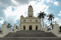 Cathedral El Cobre, Cuba stock photo