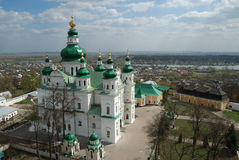 Orthodoxy cathedral in Chernigov Royalty Free Stock Images