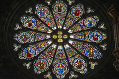 Cathedral of Embrun, interior Royalty Free Stock Images