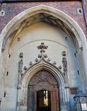 Cathedral entrance. The Frauenkirche cathedral in Munich, Germany Royalty Free Stock Photography