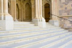 Cathedral entrance Royalty Free Stock Photography