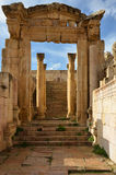 Cathedral Entrance, Jerash Royalty Free Stock Photos