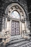 Cathedral entrance Royalty Free Stock Image