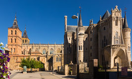 Cathedral and Episcopal Palace of Astorga Royalty Free Stock Image