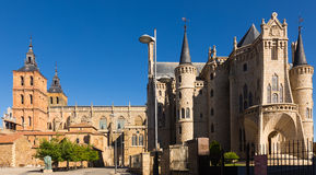 Cathedral and Episcopal Palace of Astorga Royalty Free Stock Photography