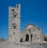 Cathedral of Erice, Santa Maria Assunta. Sicily, Italy. Royalty Free Stock Image