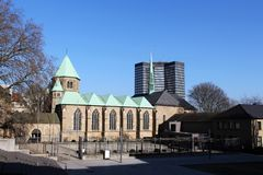 The cathedral in Essen (Germany) Royalty Free Stock Photo