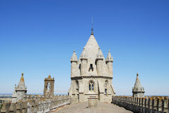 Cathedral of Evora. Roof of the cathedral in Evora (Portugal Stock Photos