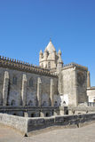 Cathedral of Evora. Details of the cathedral in Evora (Portugal Royalty Free Stock Photography