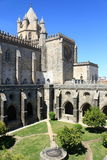 Cathedral of Evora. In Portugal royalty free stock image