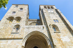 Cathedral of Evora Royalty Free Stock Photos
