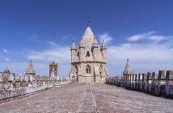 Cathedral of Evora, Portugal Stock Images