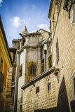 Cathedral facace, Tourism, Toledo, most famous city in spain Stock Image