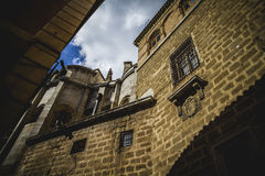 Cathedral facace, Tourism, Toledo, most famous city in spain Stock Photos