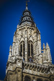 Cathedral facace, Tourism, Toledo, most famous city in spain Stock Photography