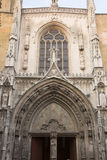 Cathedral Facade, Aix-en-Provence; France Royalty Free Stock Photography