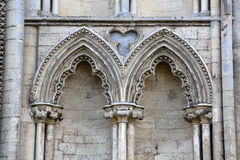 Cathedral Facade in Ely, Cambridgeshire Royalty Free Stock Image