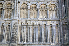 Cathedral Facade in Ely, Cambridgeshire Stock Photography