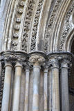 Cathedral Facade in Ely, Cambridgeshire Stock Images