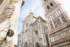 Cathedral facade, Florence Stock Photos