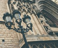 Cathedral facade Royalty Free Stock Image