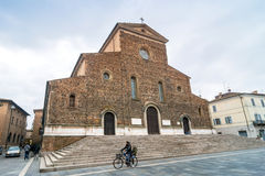 Cathedral in Faenza, Italy Stock Photos