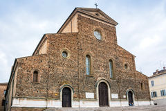 Cathedral in Faenza, Italy Stock Image