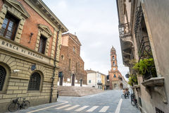 Cathedral in Faenza, Italy Royalty Free Stock Photography