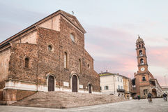 Cathedral of Faenza, Italy Royalty Free Stock Image