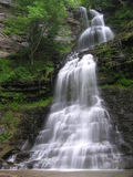 Cathedral Falls, Gauley Bridge WV #11. July 2006 - Early morning photograph of this stunning waterfall in south/central West Virgina. This gem of a waterfall Royalty Free Stock Image