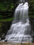 Cathedral Falls, Gauley Bridge WV #7. July 2006 - Early morning photograph of this stunning waterfall in south/central West Virgina. This gem of a waterfall Royalty Free Stock Photo
