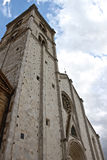 The cathedral of Fermo Royalty Free Stock Image