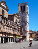 Cathedral, Ferrara, Italy Royalty Free Stock Images